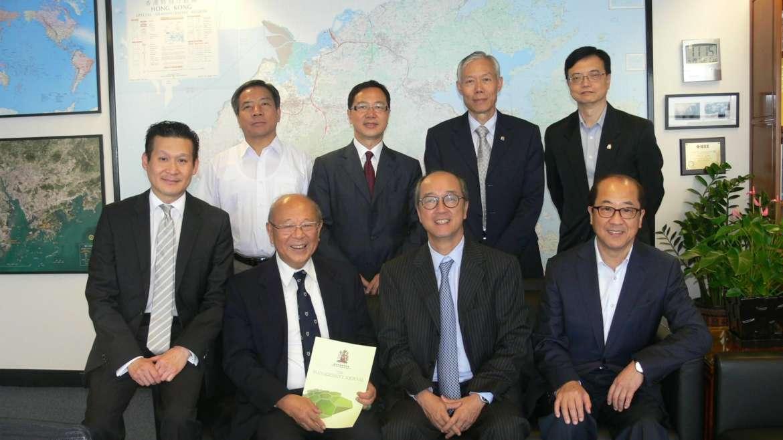 Visit President Tony Chan's Office