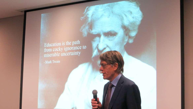 Nobel Laureate Professor Hansen's talk