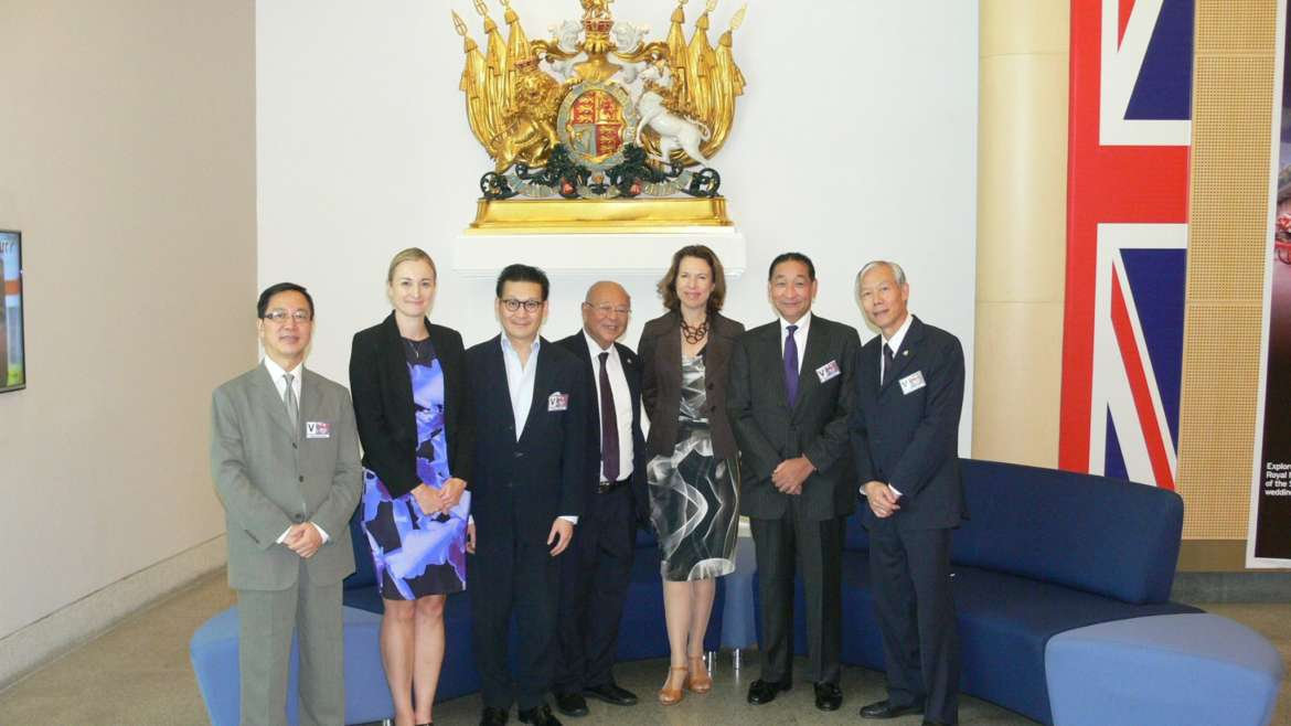Representatives from IIM led by President David Lan visited Office of the British Consulate Genreral