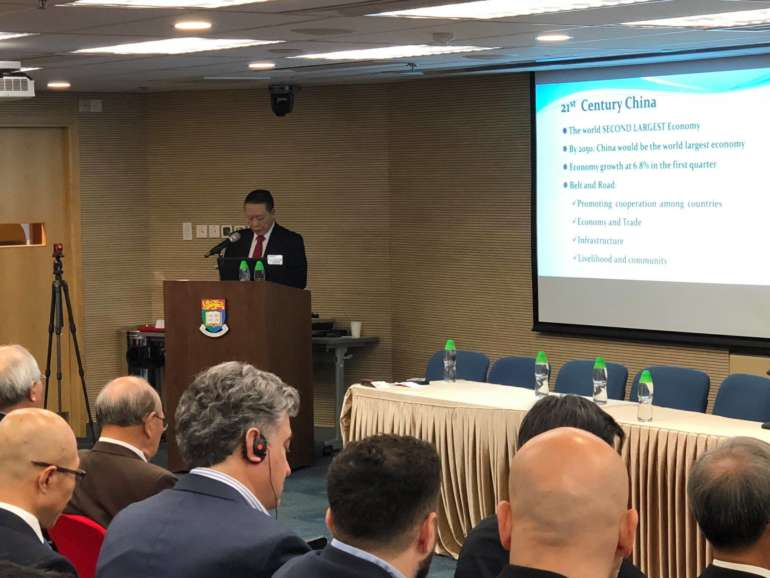 """How to capitalize on the vast opportunities created by the National strategy of """"Belt & Road Initiative"""" – Ir Dr Raymond Ho Chung-Tai SBS JP"""