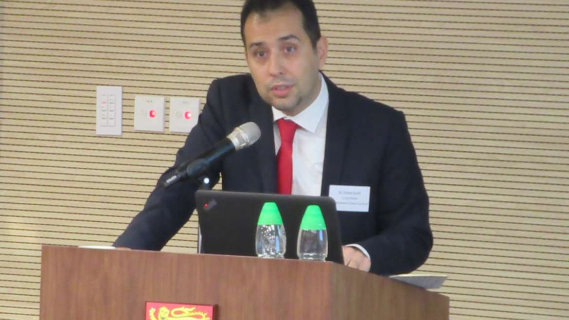 """The role of Turkey in the """"Belt & Road Initiative"""" and opportunities – Mr. Korhan Kemik Consulate General of Turkey (Hong Kong)"""